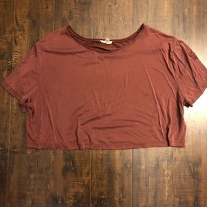 Urban Outfitters | silence & noice crop shirt